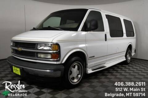 1997 Chevrolet Express Cargo for sale at Danhof Motors in Manhattan MT
