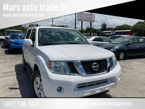 2010 Nissan Pathfinder for sale at Mars auto trade llc in Kissimmee FL
