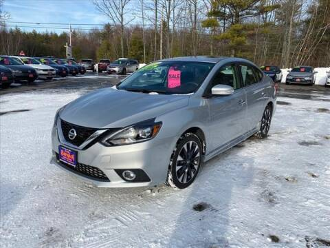 2017 Nissan Sentra for sale at North Berwick Auto Center in Berwick ME