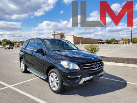 2015 Mercedes-Benz M-Class for sale at INDY LUXURY MOTORSPORTS in Fishers IN