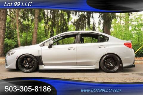 2015 Subaru WRX for sale at LOT 99 LLC in Milwaukie OR