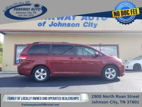 2011 Toyota Sienna for sale at PARKWAY AUTO SALES OF BRISTOL - PARKWAY AUTO JOHNSON CITY in Johnson City TN