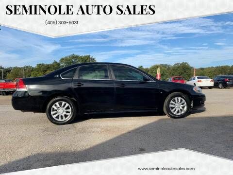 2009 Chevrolet Impala for sale at Seminole Auto Sales in Seminole OK
