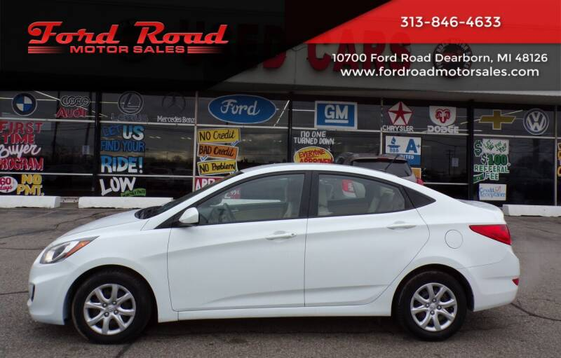 2014 Hyundai Accent for sale at Ford Road Motor Sales in Dearborn MI