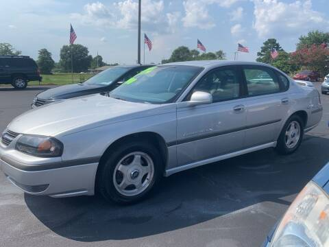 2002 Chevrolet Impala for sale at Doug White's Auto Wholesale Mart in Newton NC