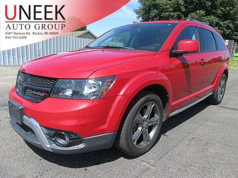2015 Dodge Journey for sale at Uneek Auto Group LLC in Burton MI