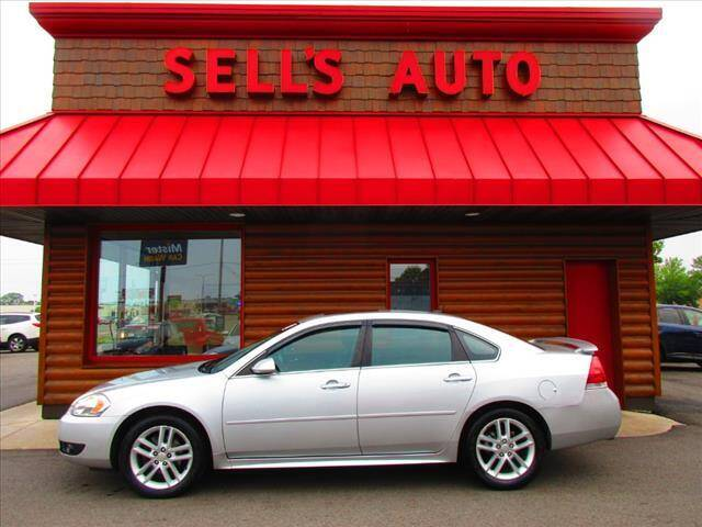 2013 Chevrolet Impala for sale at Sells Auto INC in Saint Cloud MN