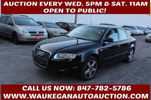 2005 Audi A4 for sale at Waukegan Auto Auction in Waukegan IL