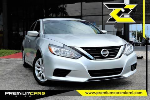 2018 Nissan Altima for sale at Premium Cars of Miami in Miami FL