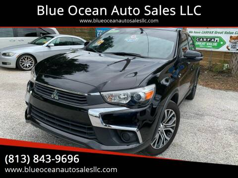 2016 Mitsubishi Outlander Sport for sale at Blue Ocean Auto Sales LLC in Tampa FL