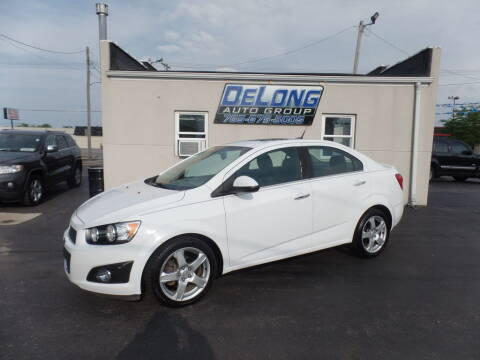 2013 Chevrolet Sonic for sale at DeLong Auto Group in Tipton IN