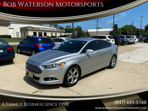 2015 Ford Fusion for sale at Bob Waterson Motorsports in South Elgin IL
