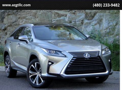 2018 Lexus RX 350 for sale at AZGT LLC in Phoenix AZ