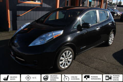 2015 Nissan LEAF for sale at Sabeti Motors in Tacoma WA