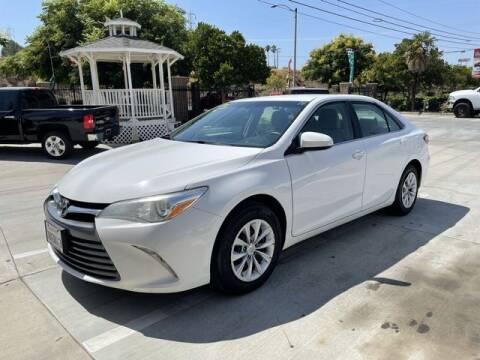 2015 Toyota Camry for sale at Los Compadres Auto Sales in Riverside CA