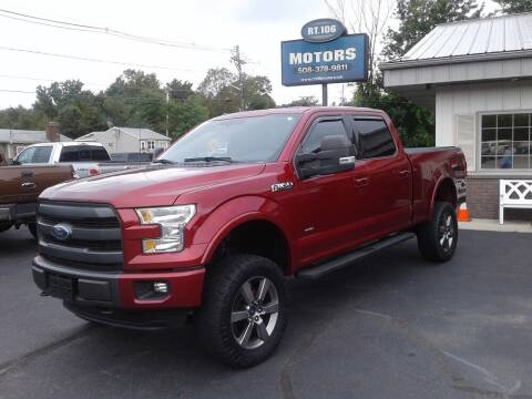2015 Ford F-150 for sale at Route 106 Motors in East Bridgewater MA