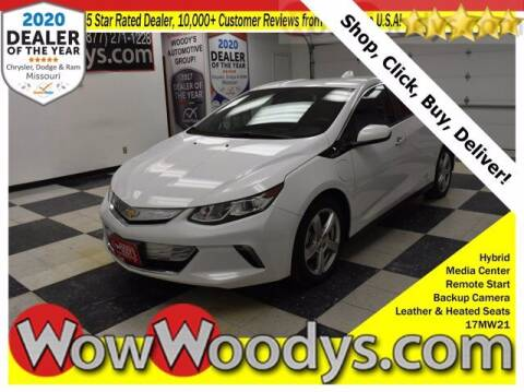 2017 Chevrolet Volt for sale at WOODY'S AUTOMOTIVE GROUP in Chillicothe MO