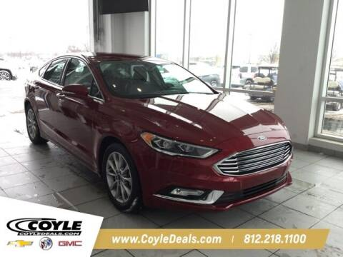 2017 Ford Fusion for sale at COYLE GM - COYLE NISSAN - New Inventory in Clarksville IN