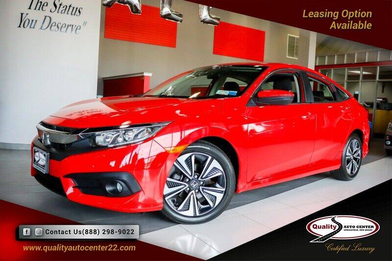 2018 Honda Civic for sale at Quality Auto Center in Springfield NJ