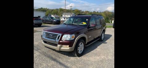 2008 Ford Explorer for sale at QUALITY AUTOS in Hamburg NJ