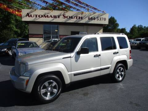 2008 Jeep Liberty for sale at Automart South in Alabaster AL