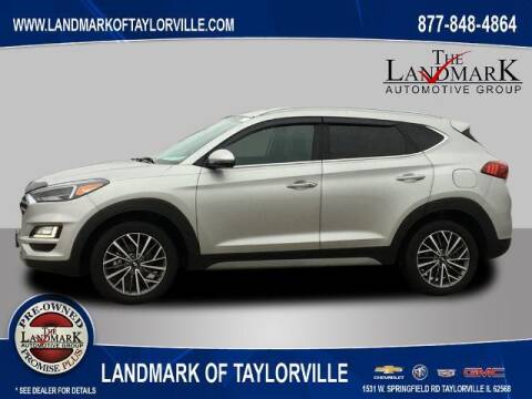 2020 Hyundai Tucson for sale at LANDMARK OF TAYLORVILLE in Taylorville IL