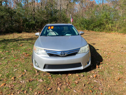 2012 Toyota Camry for sale at Midtown Motors in Greenbrier TN