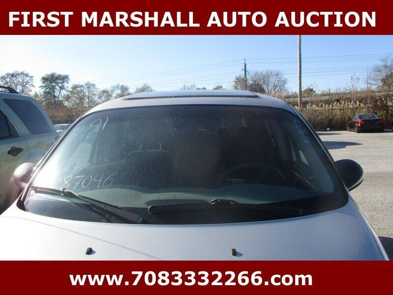 2001 Chrysler PT Cruiser for sale at First Marshall Auto Auction in Harvey IL