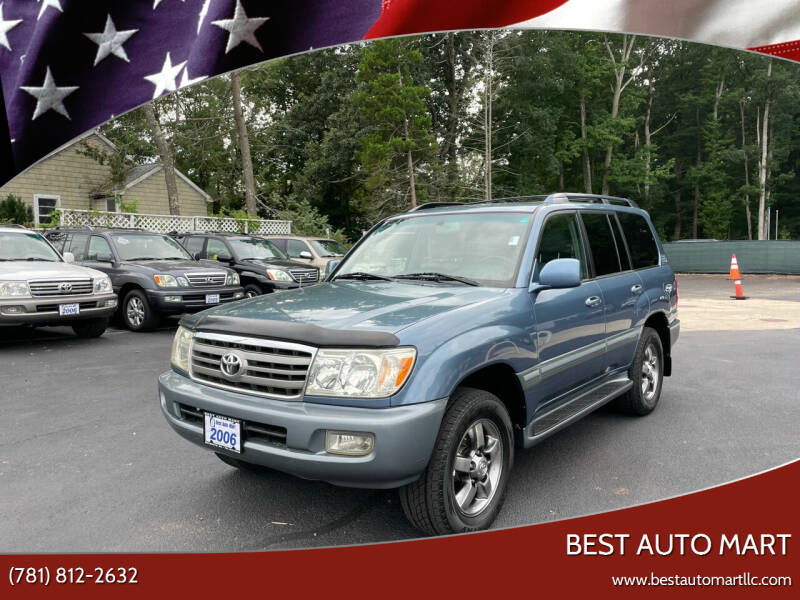 2006 Toyota Land Cruiser for sale at Best Auto Mart in Weymouth MA