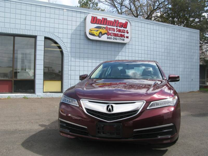 2015 Acura TLX for sale at Unlimited Auto Sales & Detailing, LLC in Windsor Locks CT