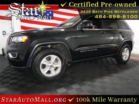 2017 Jeep Grand Cherokee for sale at STAR AUTO MALL 512 in Bethlehem PA