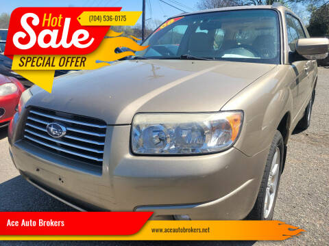 2008 Subaru Forester for sale at Ace Auto Brokers in Charlotte NC