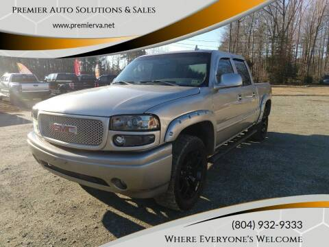 2006 GMC Sierra 1500 for sale at Premier Auto Solutions & Sales in Quinton VA