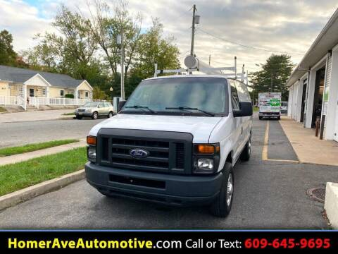 2014 Ford E-Series Cargo for sale at Homer Ave Automotive in Pleasantville NJ