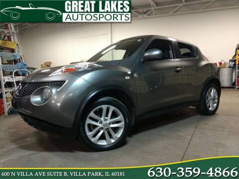 2011 Nissan JUKE for sale at Great Lakes AutoSports in Villa Park IL