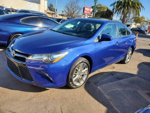 2016 Toyota Camry for sale at Convoy Motors LLC in National City CA