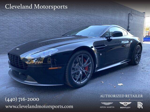 2015 Aston Martin V8 Vantage for sale at Drive Options in North Olmsted OH