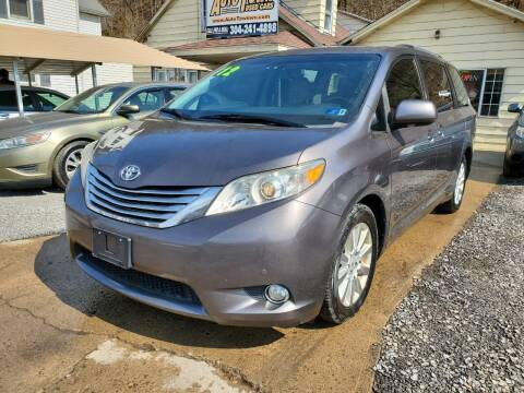 2012 Toyota Sienna for sale at Auto Town Used Cars in Morgantown WV