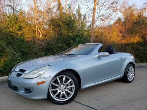 2005 Mercedes-Benz SLK for sale at Houston Auto Preowned in Houston TX