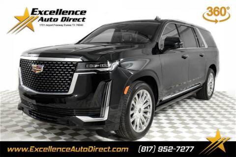 2021 Cadillac Escalade ESV for sale at Excellence Auto Direct in Euless TX