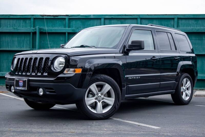 2016 Jeep Patriot for sale at 605 Auto  Inc. in Bellflower CA