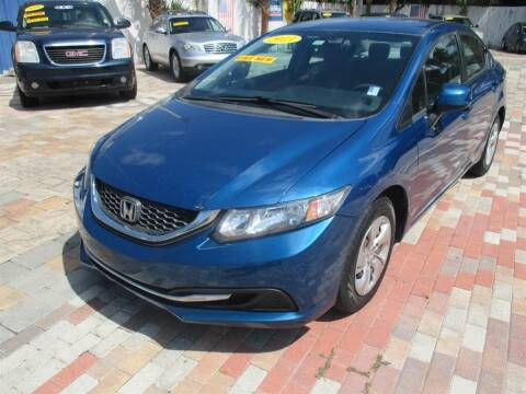 2013 Honda Civic for sale at Affordable Auto Motors in Jacksonville FL