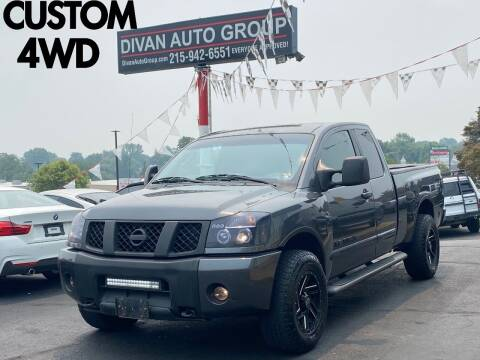 2005 Nissan Titan for sale at Divan Auto Group in Feasterville Trevose PA