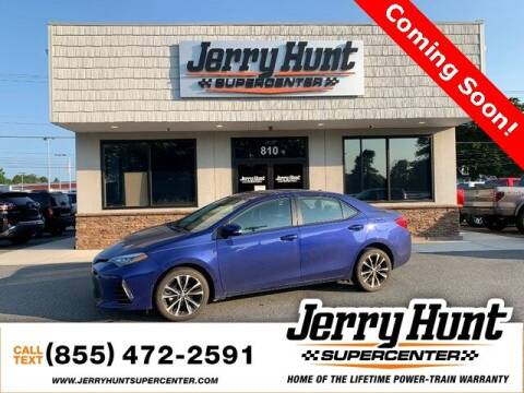 2018 Toyota Corolla for sale at Jerry Hunt Supercenter in Lexington NC