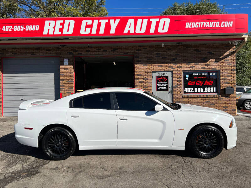 2013 Dodge Charger for sale at Red City  Auto in Omaha NE