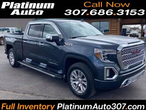 2019 GMC Sierra 1500 for sale at Platinum Auto in Gillette WY