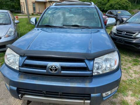 2004 Toyota 4Runner for sale at Richard C Peck Auto Sales in Wellsville NY