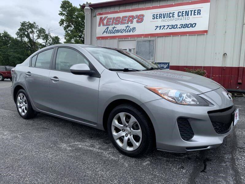 2013 Mazda MAZDA3 for sale at Keisers Automotive in Camp Hill PA