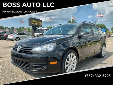 2013 Volkswagen Jetta for sale at BOSS AUTO LLC in Norfolk VA