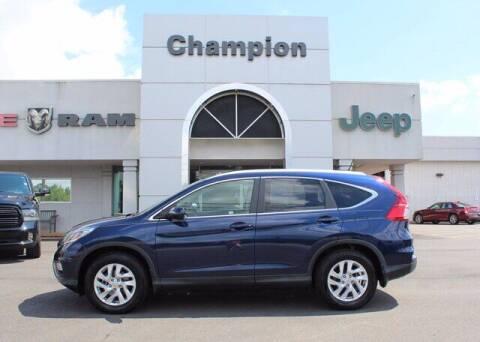 2016 Honda CR-V for sale at Champion Chevrolet in Athens AL